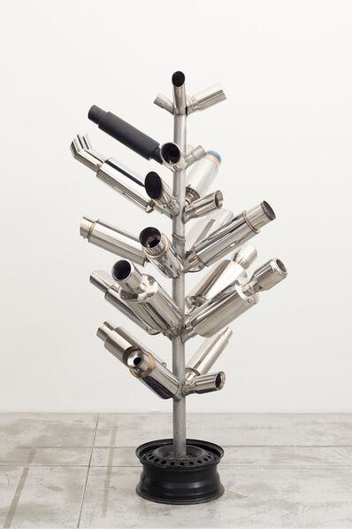 Xavier Mary, 'Muffler Sculpture (Tree of woe)', 2012