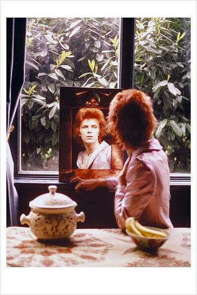 Mick Rock, 'David Bowie. Mirror Haddon Hall, Beckenham ', 1972