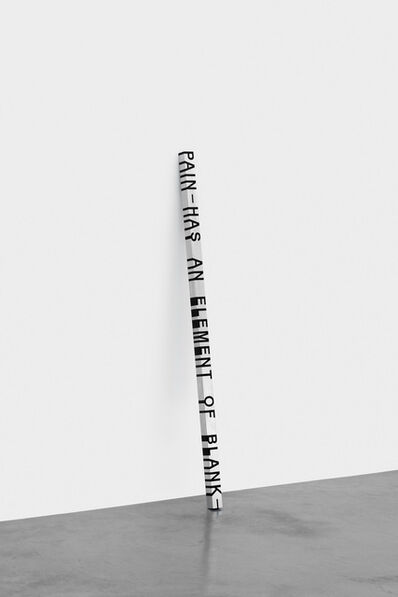 Roni Horn, 'Key and Cue, No. 650 PAIN-HAS AN ELEMENT'