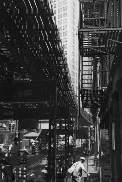André Kertész, 'Third Avenue El, New York', 1937