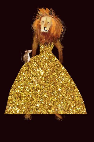 Claire Westwood, 'Mr Gold Dress- few limited edition prints left', 2019