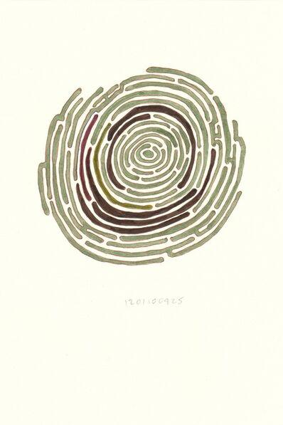 Nayda Collazo-Llorens, 'Numbered Series / Diary Drawings', 2012