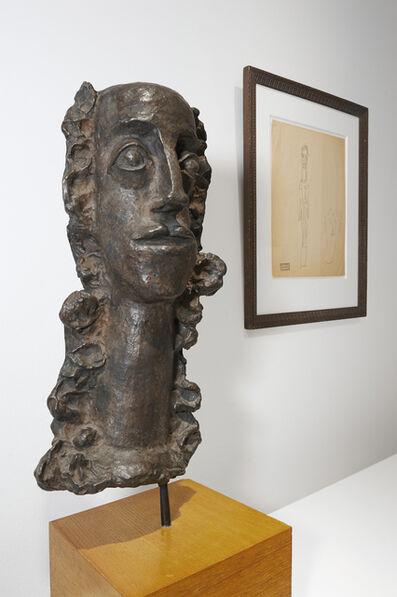 André Derain, 'Femme aux cheveux longs revenant sur la poitrine, o.J.'