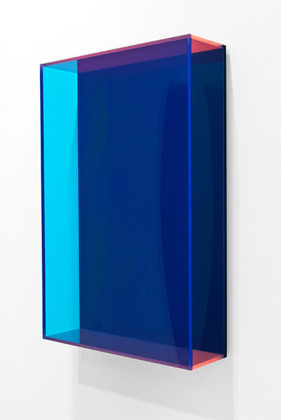 Regine Schumann, 'colormirror dark blue', 2016