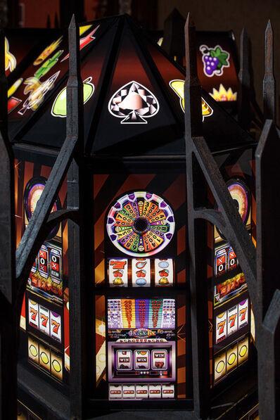 Mat Collishaw, 'Jewel Slot Empire (Detail)', 2015