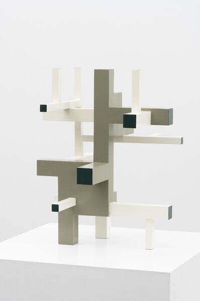 Krijn De Koning, 'Tumbling Work (Green/White)', 2020