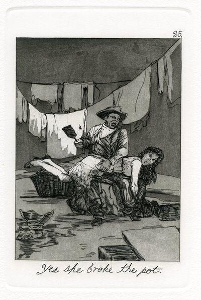 Emily Lombardo, 'Yes she broke the pot, from the Caprichos', 2014