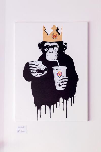 Thirsty Bstrd, 'Fast Food Monkey: Burger King ', 2018