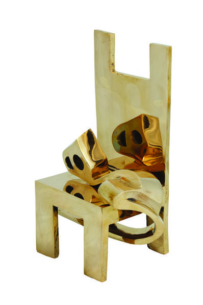 Parviz Tanavoli, 'Heech on Chair', 2007
