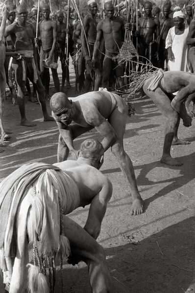 George Rodger, 'Wrestlers of the Kao-Nyaro #1', 1949
