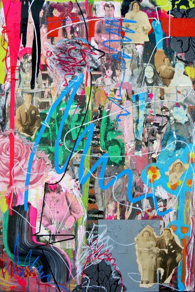 Fausto Fernandez, 'Descending View of Escalator', 2016