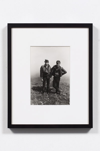 Danny Lyon, 'Dave and Rawhide (Columbus Outlaws), Elkhorn, Wisconsin, 1966', 1966