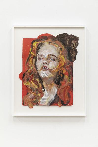 Natalie Frank, 'Woman, Hair Eater III', 2019