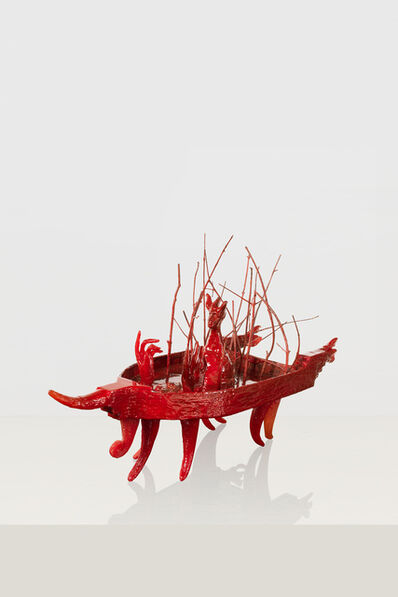 Edouard Duval-Carrié, 'The Red Boat of Bossu'
