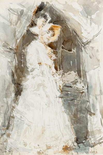Giovanni Boldini, 'Lady in a White Dress', ca. 1874-1877