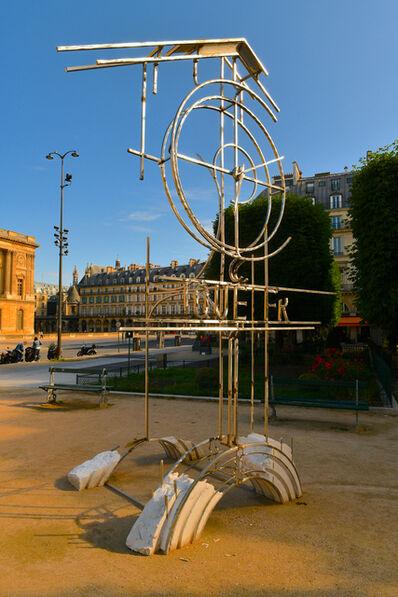 Juan Garaizabal, 'Tour de l'horloge du palais disparu des Tuileries', 2021