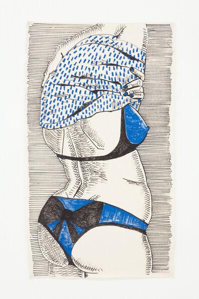 Ella Kruglyanskaya, 'Untitled (Disturbing Bather)', 2010
