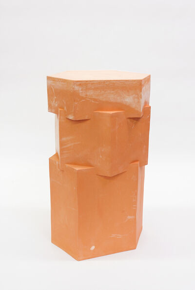 B. Zippy, 'Raw Terracotta Tall Hex Side Table', 2019