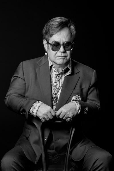 Greg Gorman, 'Elton John', 2018