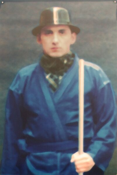 Xavier Veilhan, 'Untitled (Man with Bowler Hat and Stick)', 1998