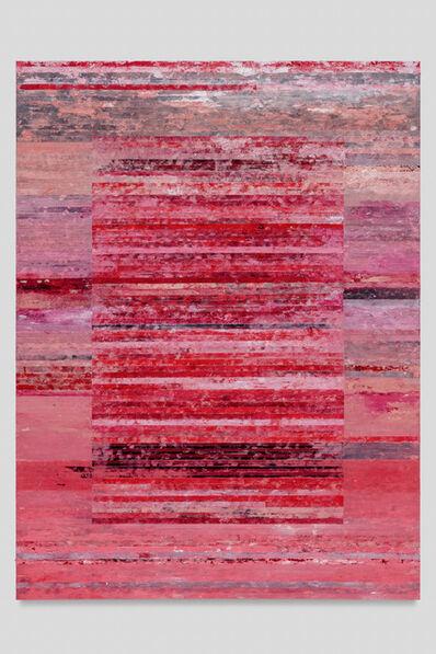 Tim Youd, 'Typewriter Ribbon Painting (Series 2): XL- No. 2', 2019