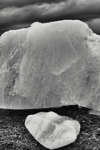 Cara Weston, 'Ice Rocks, Iceland', 2016