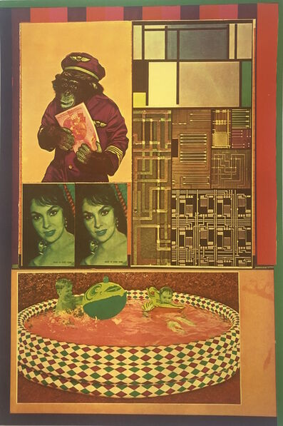 Eduardo Paolozzi, 'Transparent Creatures hunting New Victims from General Dynamic F.U.N', 1970