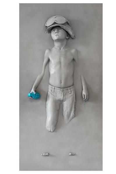 SCHOONY, 'Blue Grenade', 2020