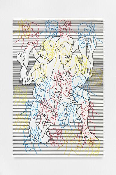 Carlos Amorales, 'La Orgía de Narciso 03', 2018-2020