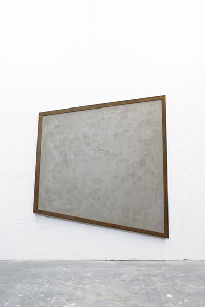 "Pierre Descamps, '""Piece of wall, concrete #5""', 2013"