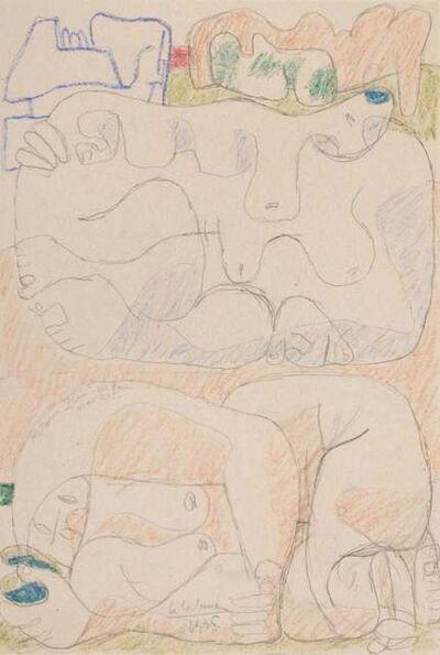 Le Corbusier, 'Femmes Couchées', 1935