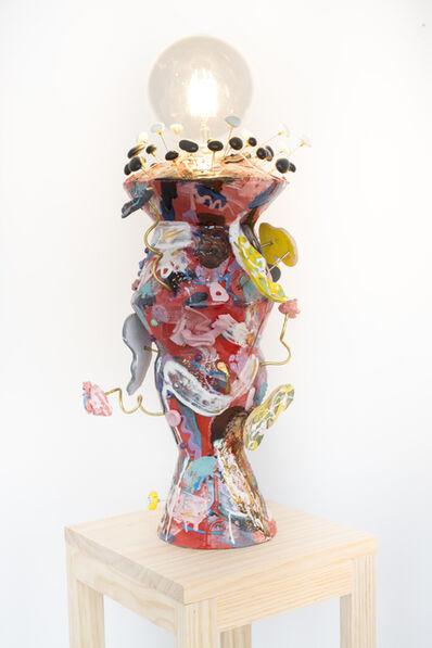 Ling Chun, 'LIGHT ME UP (RED)', 2020