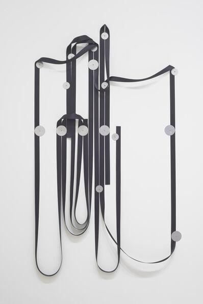 Alexandre Canonico, 'Black strap and washers (25m, 9S, 7L),', 2020