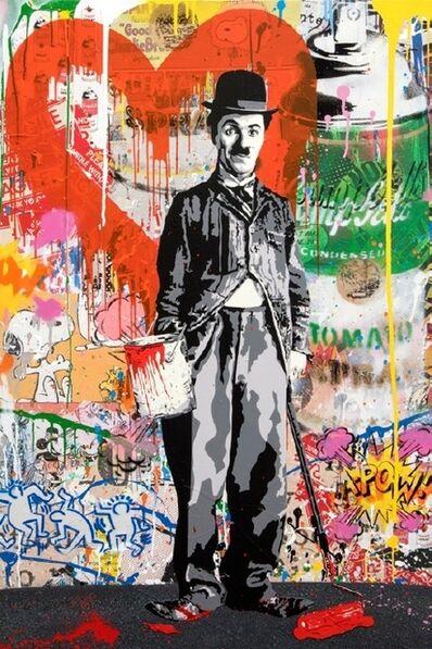 Mr. Brainwash, 'Charlie Chaplin', 2018