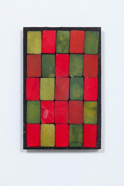 Luis Romero, 'Verde/Rojo (damero)', 2019