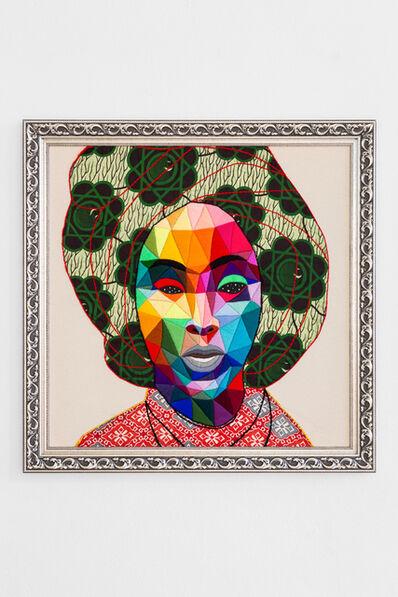 Okuda San Miguel, 'Indiafrican Mom 2', 2019