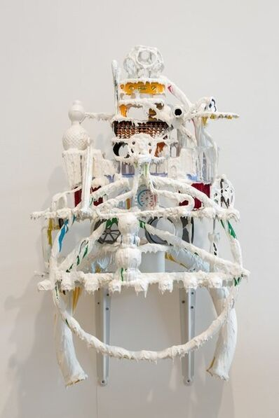 Teppei Kaneuji, 'White Discharge (Built-up Objects #39)', 2014