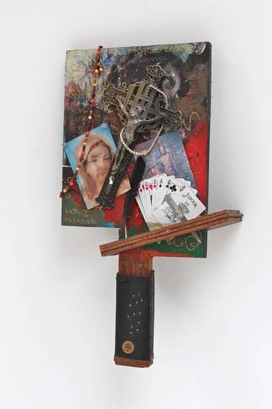 William T. Wiley, 'Momma's Cross with Jesus', 1995
