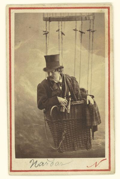 Nadar, 'F'lix Nadar in Gondola of Balloon', 1863