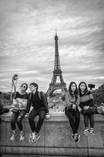 David Darby, ASC, 'Selfies, Paris, France', 2014