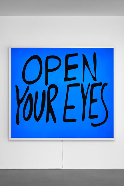 Sam Durant, 'Open Your Eyes', 2017