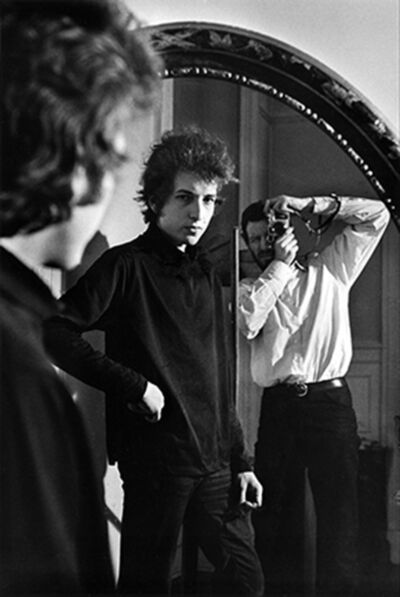 Daniel Kramer, 'Daniel Kramer and Bob Dylan in Mirror, New York', 1965