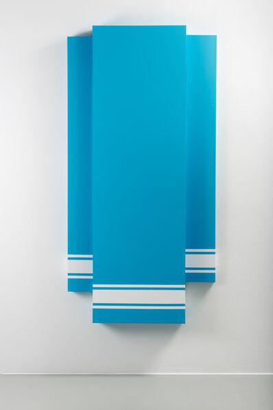 Mathieu Mercier, 'LASCAUX 983 on background UNIK 027-6A', 2014