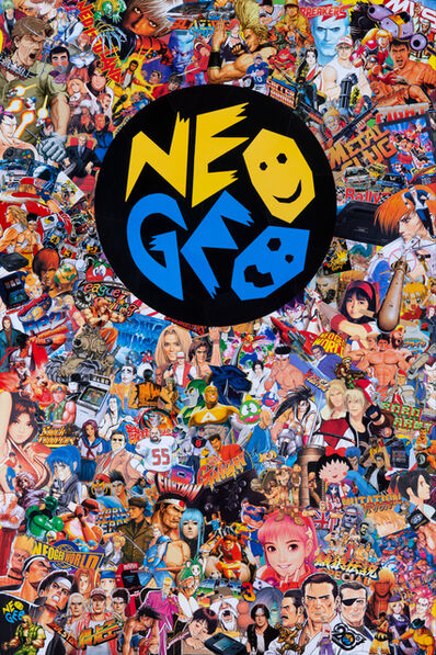 Mr Garcin, 'Neo Geo', 2019