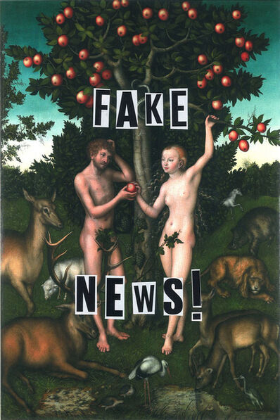 Sarah Maple, 'Fake News ', 2018