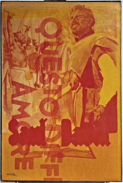 Mimmo Rotella, 'Questo Difficile Amore', 1974