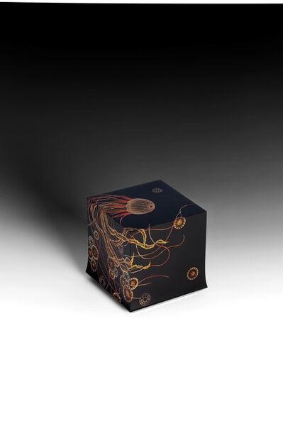 "Yoshio Okada, '""Flickering"" Box with Sprinkled Design of Jellyfish (T-4579)', 2020"