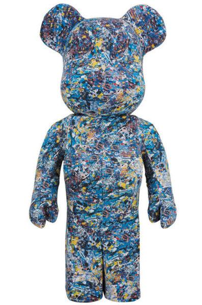 Jackson Pollock, '1000% Bearbrick', 2017