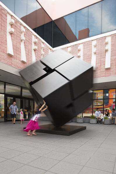 Tony Rosenthal, 'Marty's Cube', 1983
