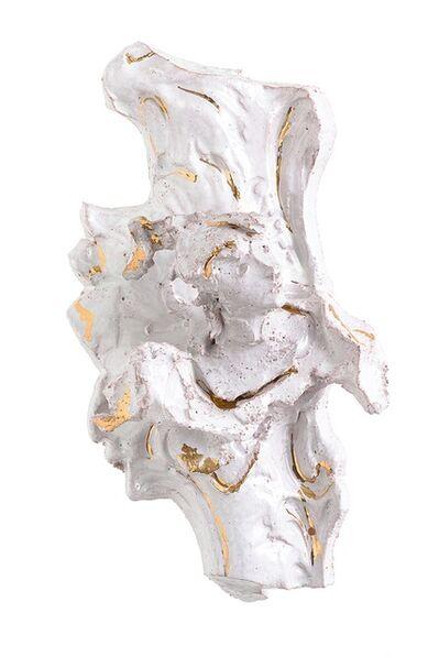 Lucio Fontana, 'Frammento di specchiera con testina', 1950 -1955